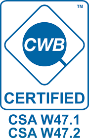 Certified to perform structural steel work and inspections, and perform steel welding fabrication